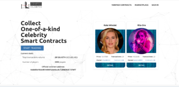 Startup of the day: a game for selling virtual celebrities for ethereum — Сryptocelebrities