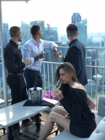 Secret Party of Crypto-Investors Held in Singapore