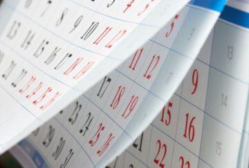 Listing Calendar: June-July 2018