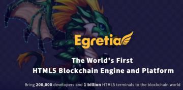 Egretia (Egreten): blockchain for HTML5 games