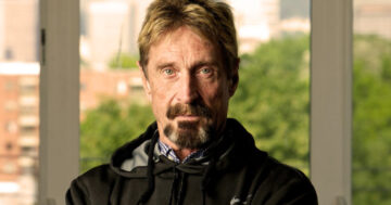 John McAfee launches two useful websites: McAfee Market Cap and McAfee Crypto Team