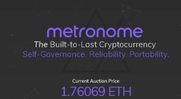 Metronome (MET) Launches Its ICO Auction