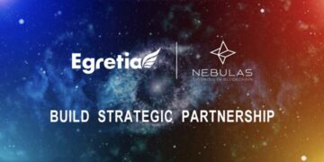 Egretia (EGT) and Nebulas (NAS) announce strategic partnership