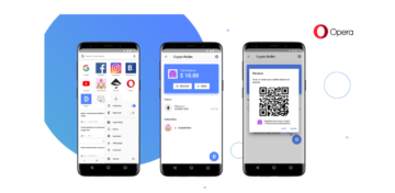 Opera has introduced the browser with built-in Crypto Wallet