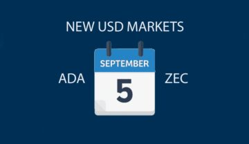 Bittrex launches USD markets for Cardano (ADA) and Zcash (ZEC)