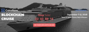 Blockchain Cruise Mediterranean Ticket Sale Ends!