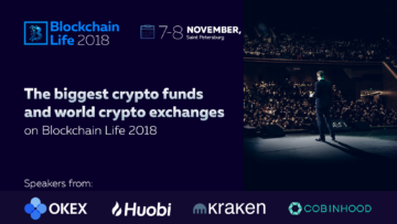 Kraken, Okex, Huobi and major Asian crypto funds go to Blockchain Life 2018