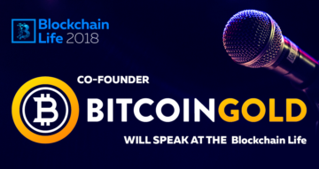 The co-founder of Bitcoin Gold will speak at the key blockchain and crypto currency forum Blockchain Life 2018