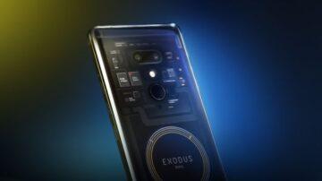 Electronics giant HTC introduces its blockchain smartphone Exodus
