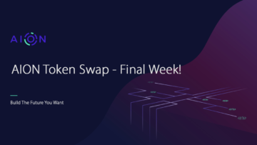 The Aion (AION) token swap will be completed on November 30
