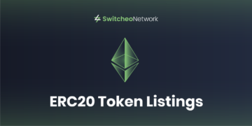 Switcheo will list 12 new ERC20 tokens