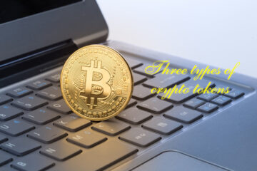 Three types of crypto tokens