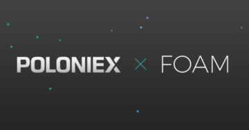 FOAM Protocol (FOAM) tokens unlocked, FOAM gets listed on Poloniex