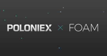 FOAM Protocol (FOAM) tokens unlocked, FOAM gets listed on Poloniex