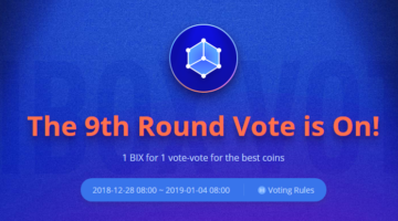 Bibox has launched round 9 of Bibox Vote, LAMBDA (LAMB) is in the lead