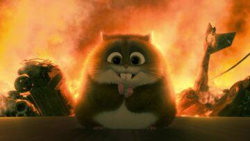 Super-hamster predicts bitcoin crash? Or take off??