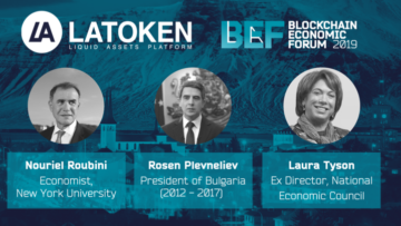 Nouriel Roubini, president of Bulgaria are joining LAchain's discussion during BEF in Davos