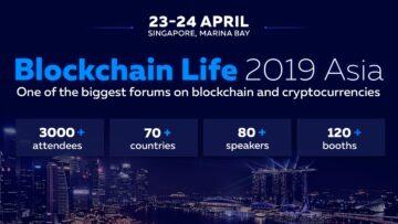 On April 23-24 Binance and Huobi speak at Blockchain Life 2019 in Singapore