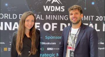 Exclusive from World Digital Mining Summit (WDMS): Genesis mining CEO Speaks to Coinstelegram