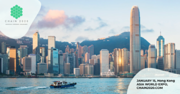 10,000 participants are expected to join CHAIN2020 in Hong Kong on January 15