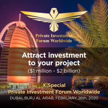 X Special Private Investment Forum Worldwide WORLD's LARGEST INVESTORS WILL GATHER IN DUBAI