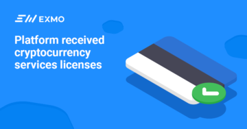 EXMO received cryptocurrency services licenses
