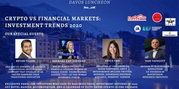 Davos Luncheon: Crypto vs Financial Market – Investment Trends 2020