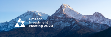Emtech Investment meeting in Davos 20-22 January 2020: first-day recap: Sustainable Investments and Social Impact of Emerging Technologies