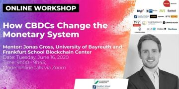 How CBDCs Change the Monetary System (Online Workshop by Jonas Gross, University of Bayreuth and Frankfurt School Blockchain Center)