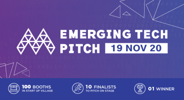 Emerging Tech Pitch returns to the stage in 2020!