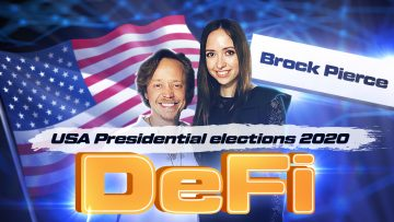 Interview with Brock Pierce, Chairman of Bitcoin Foundation and candidate for President of the USA