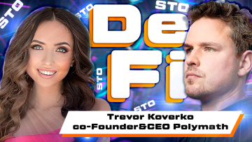 From hockey player to bitcoin investor. Trevor Koverko – CEO Polymath