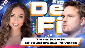 From hockey player to bitcoin investor. Trevor Koverko – CEO Polymath