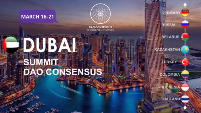 DAO Consensus to Bring Together Digital Economy Leaders in Dubai