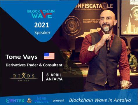 Tone Vays выступит на Blockchain Wave в Анталье 8 апреля. Увидим ли еще и Сатоши Накамото на афтепати Crypto Kombat?