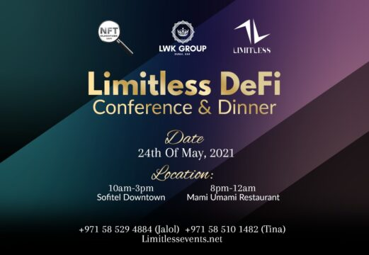 Limitless DeFi, 24th of May, 2021. One of the main events in Blockchain, DeFi space