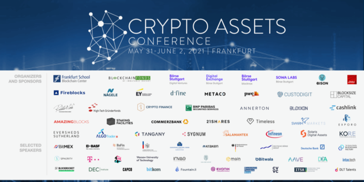 Crypto Assets Conference 2021A | May 31 till June 2, 2021 | Frankfurt School of Finance and Management