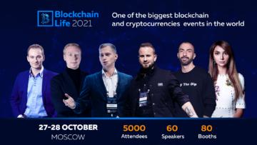 27-28 октября в Москве состоится 7-ой Международный форум Blockchain Life 2021!