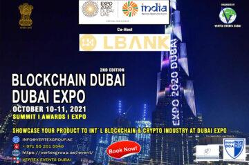 2nd Blockchain Summit – 10th & 11th October 2021 at Dubai EXPO