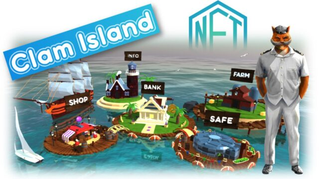 Clam Island – Gamified Blockchain Investment Platform on a 3D Island launches with an industry-first Play-to-Invest model